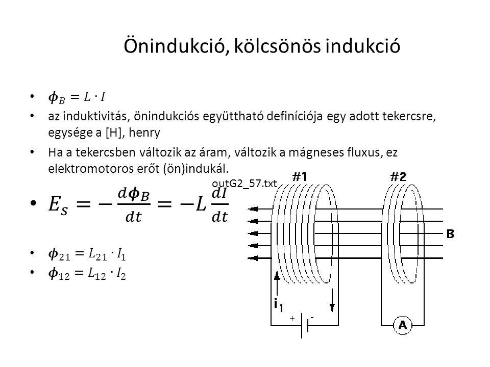 Önindukció, kölcsönös indukció outG2_57.txt