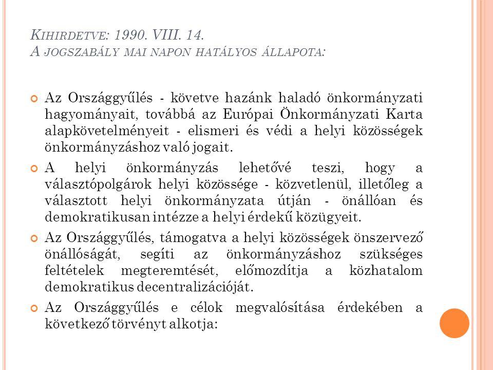K IHIRDETVE : 1990.VIII. 14.