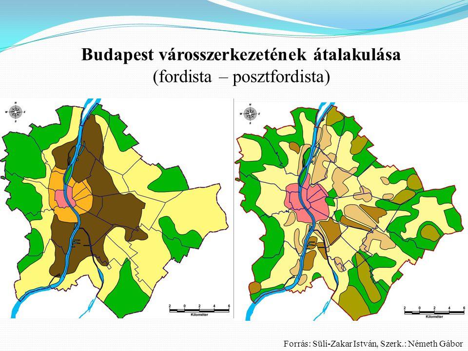 Összefoglalás  A városok alaprajzi típusai  Néhány hazai és külföldi város alaprajzi jellemzői - példák  A funkciók / társadalmi csoportok térbeli rendje  Koncentrikus zónák szerinti városmodell  Szektormodell  Többmagvú városmodell  A nagyvárosok szerkezetének komplex modellje  Budapest városszerkezete  Budapest városszerkezetének átalakulása (fordista – posztfordista)