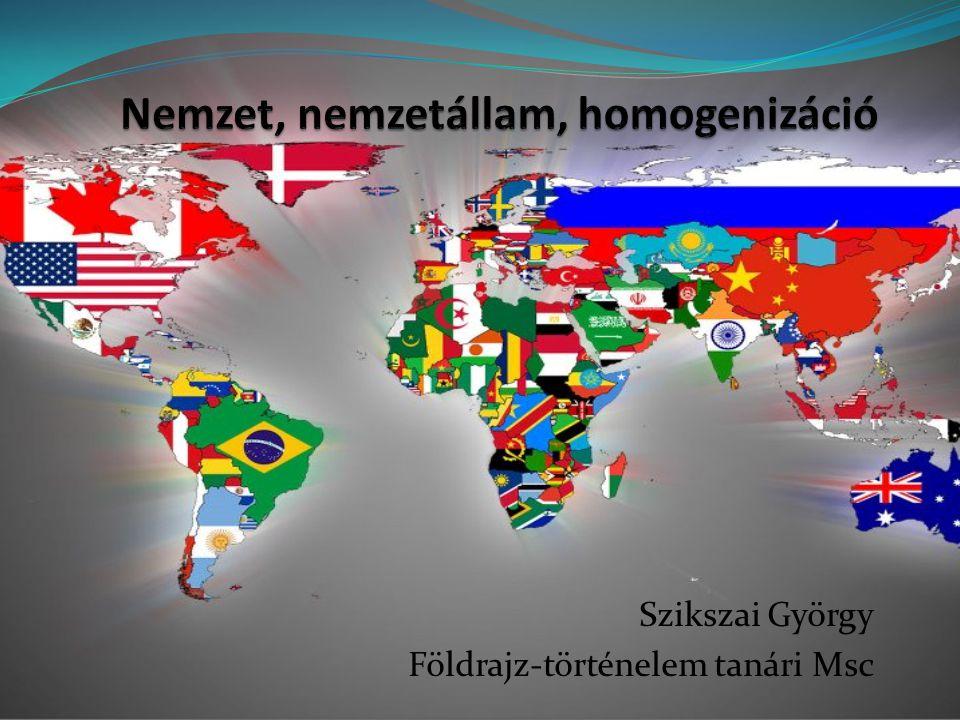 Szikszai György Földrajz-történelem tanári Msc