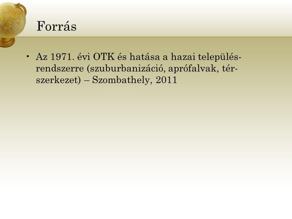 Forrás Az 1971.