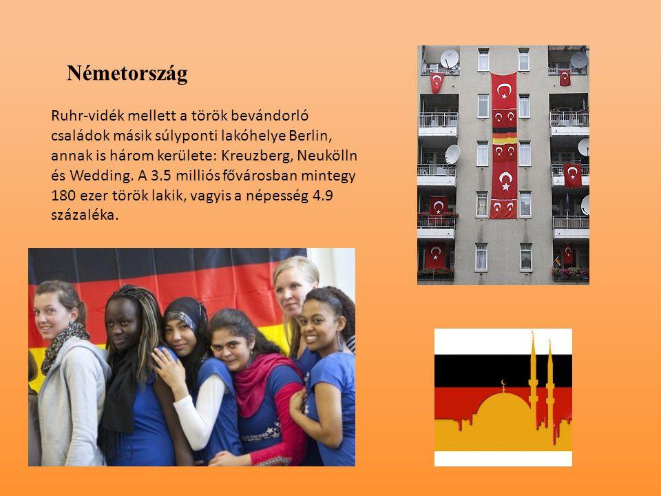 Németország Ruhr-vidék mellett a török bevándorló családok másik súlyponti lakóhelye Berlin, annak is három kerülete: Kreuzberg, Neukölln és Wedding.