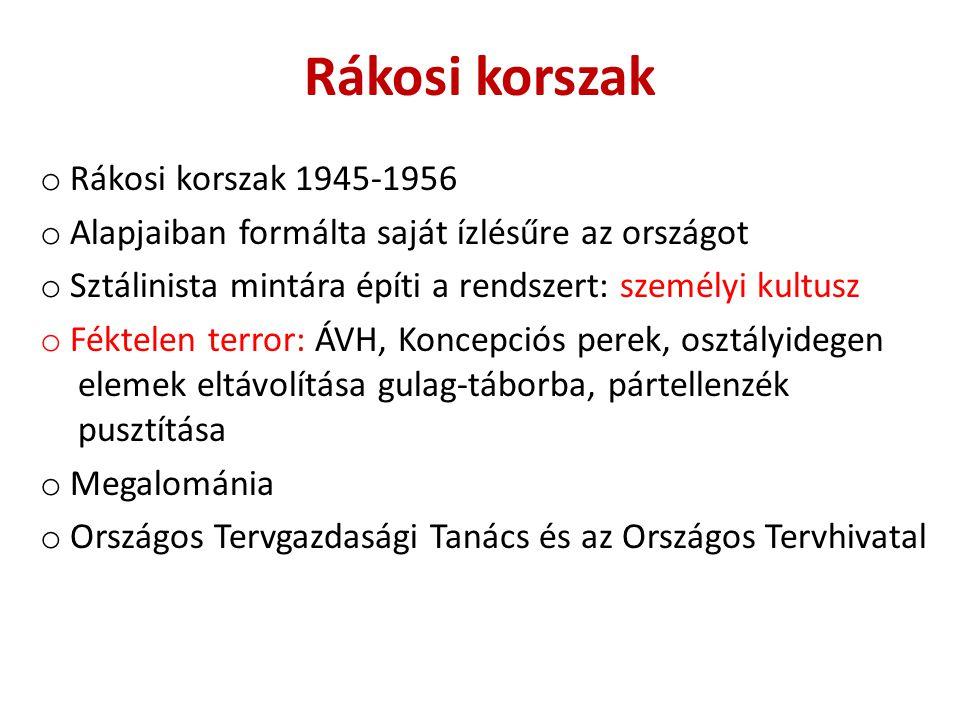 Rákosi Mátyás Vas- és Fémművek 1950-56'