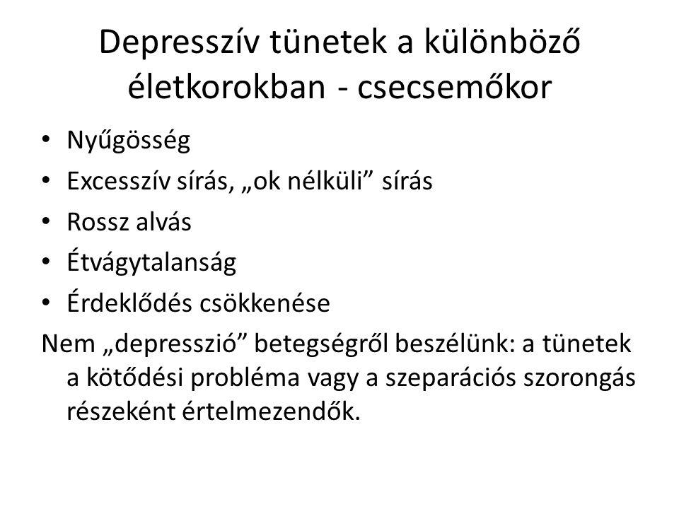Depresszív tünetek a különböző életkorokban – iskolás kor Alvászavar.