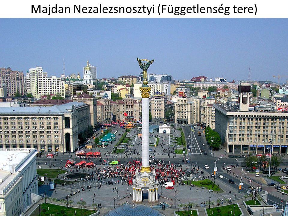 Majdan Nezalezsnosztyi (Függetlenség tere)