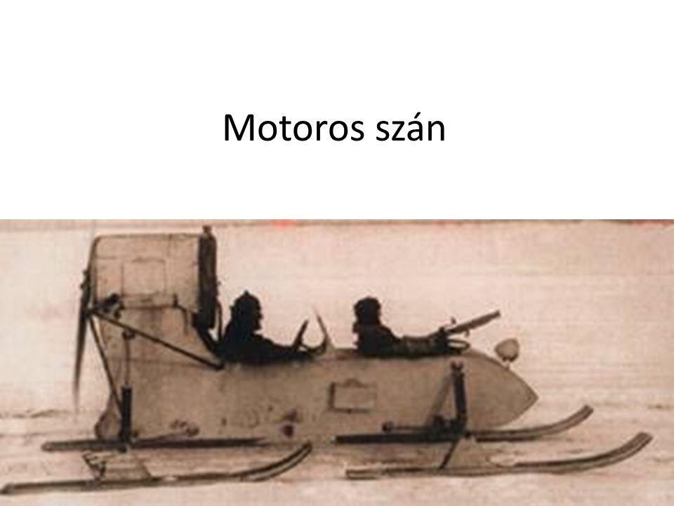 Motoros szán