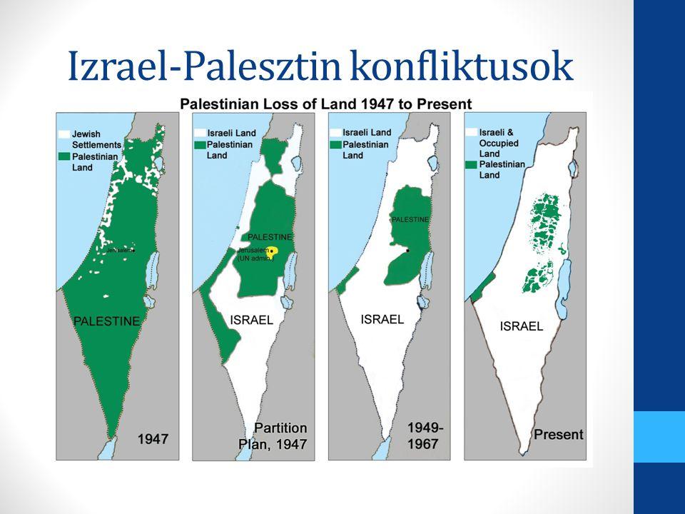 Izrael-Palesztin konfliktusok