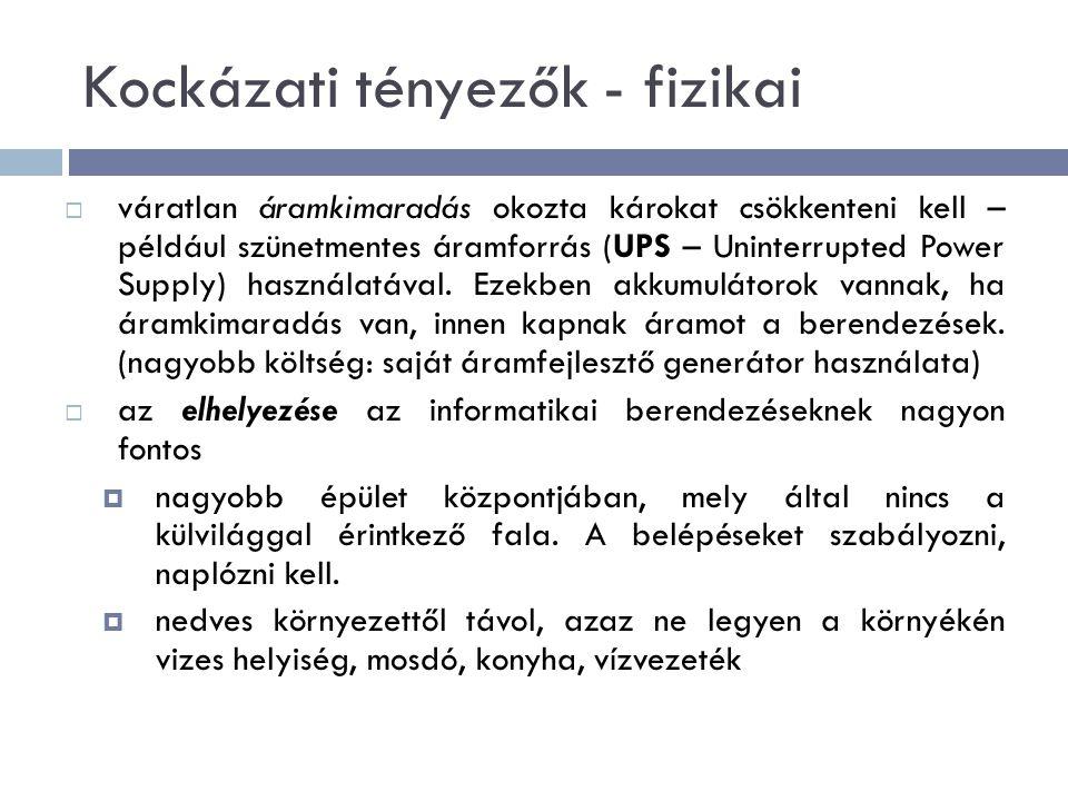 Kéretlen levelek (spam mail)  a felhasználói fiókba ritkábban kerül (a szolgáltató szűri alaposan)  Debreceni Egyetemre érkező levelek 90%-át nem engedi tovább a szűrőprogram  2010 áprilisi állapot: