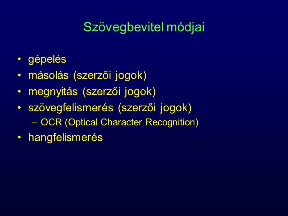 Hibatípusok tördelési szintaktikai szemantikai tipográfiai formázási