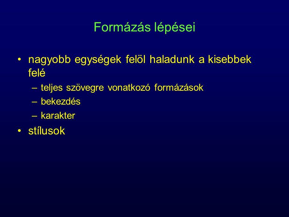 Tabulátor típusok balrajobbraközépre,,,,,,,, tizedes (decimális)