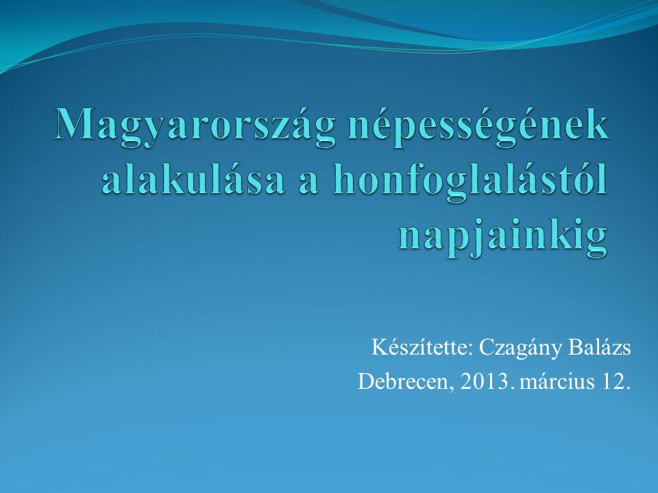 Készítette: Czagány Balázs Debrecen, 2013. március 12.