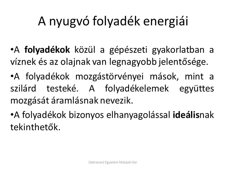 Helyzeti energiaváltozás azért nincs, mivel a Venturi cső, azaz az áramvonal vízszintes.
