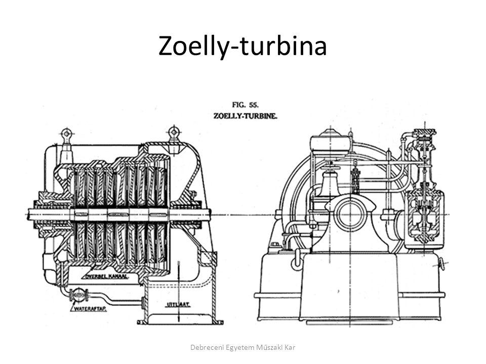 Zoelly-turbina Debreceni Egyetem Műszaki Kar