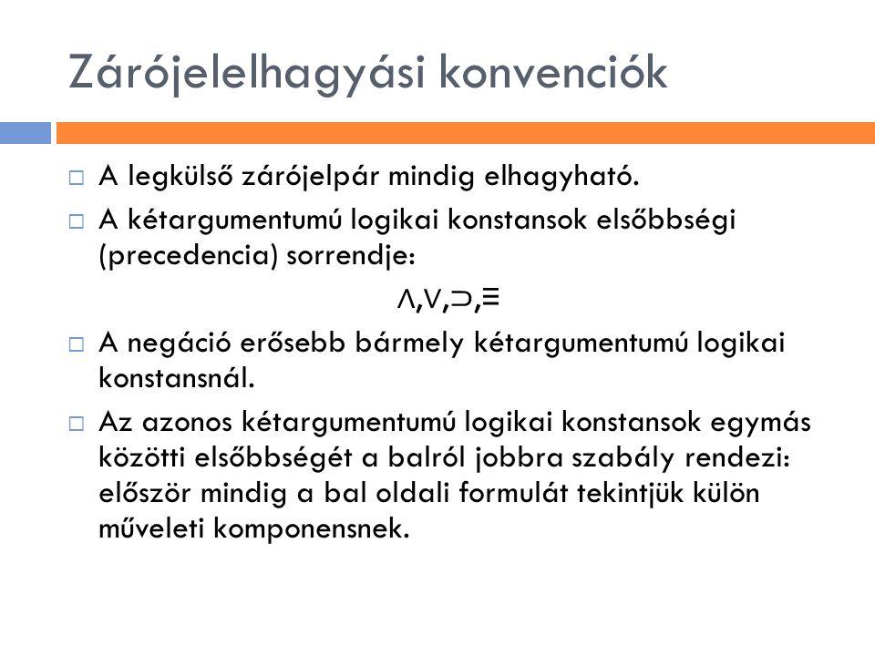 KNF – KKNF (kitüntetett) 1.átalakítással 2.