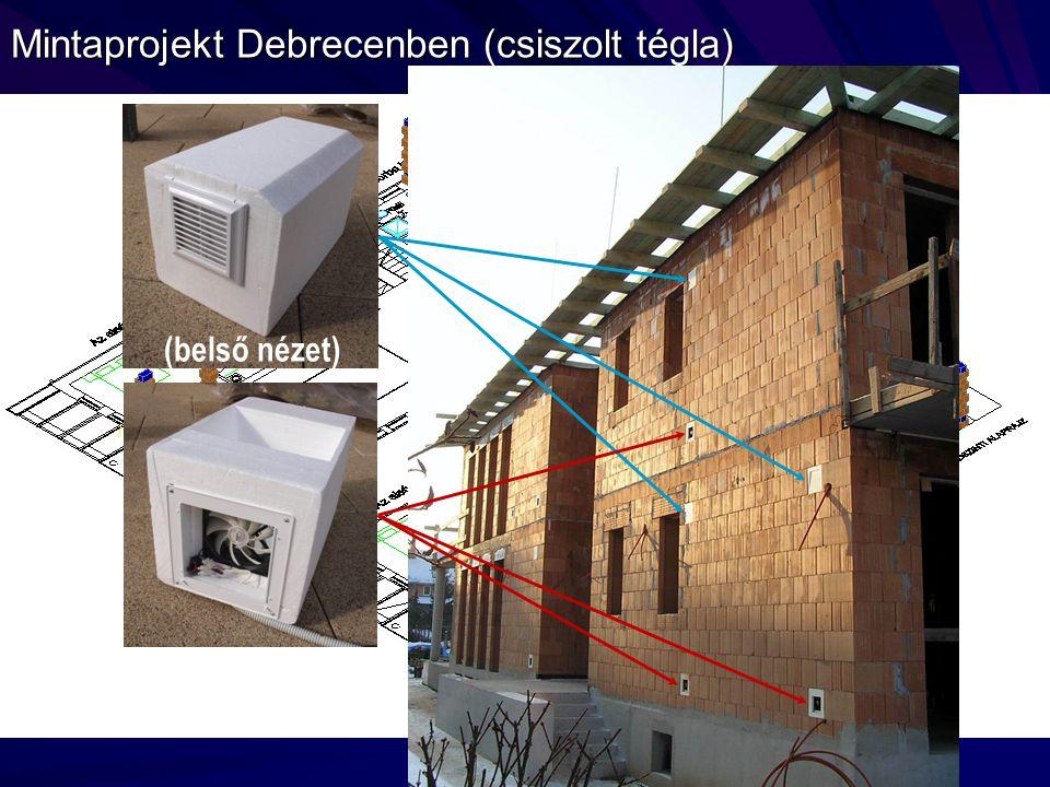 Mintaprojekt Debrecenben (csiszolt tégla) (belső nézet)