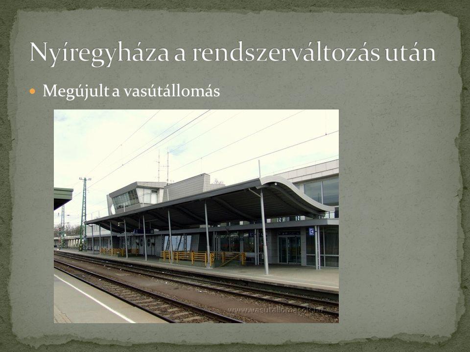 Megújult a vasútállomás