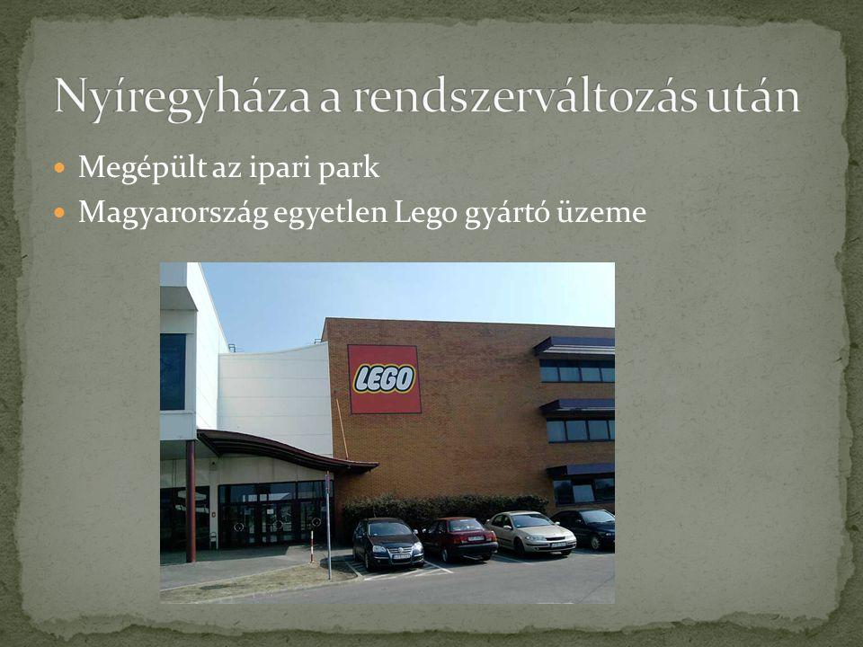Megépült az ipari park Magyarország egyetlen Lego gyártó üzeme