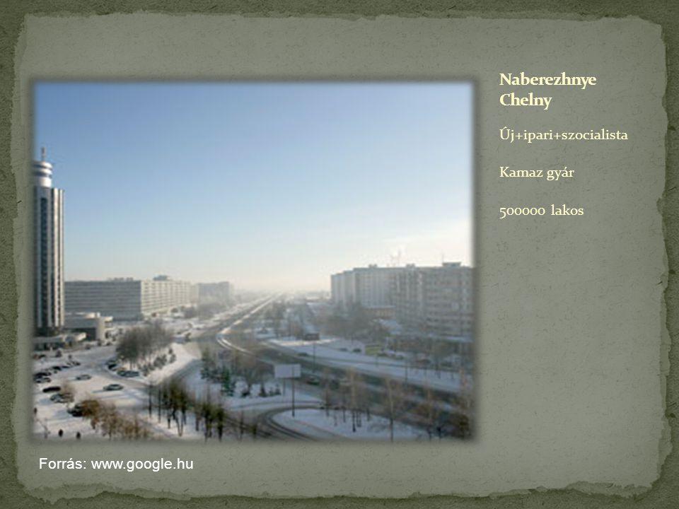 Új+ipari+szocialista Kamaz gyár 500000 lakos Forrás: www.google.hu
