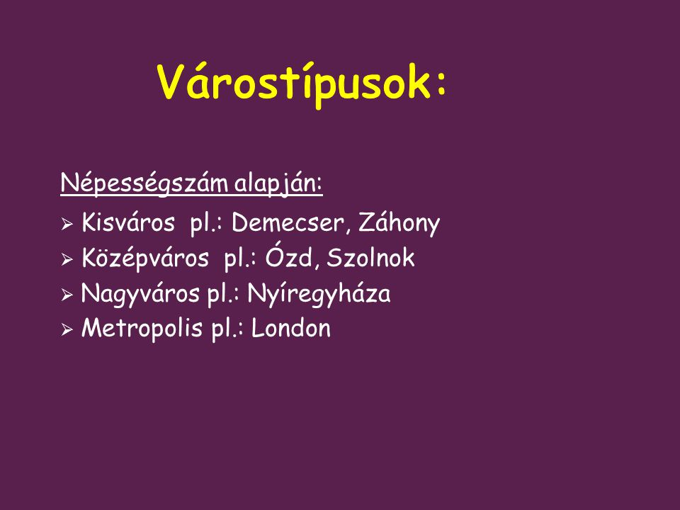 Magyarország megyei jogú városai, a megyei jogú várossá nyilvánítás időpontja szerint