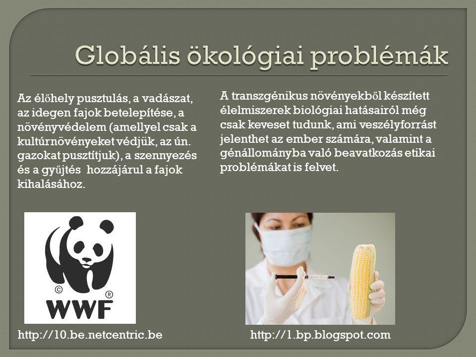 http://10.be.netcentric.be Az él ő hely pusztulás, a vadászat, az idegen fajok betelepítése, a növényvédelem (amellyel csak a kultúrnövényeket védjük, az ún.