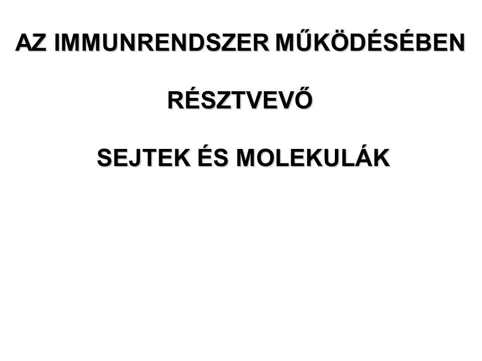 Web: www.immunology.unideb.huwww.immunology.unideb.hu Login: student Password: download Előadás anyag, szemináriumok letölthetők: Laczik Renata
