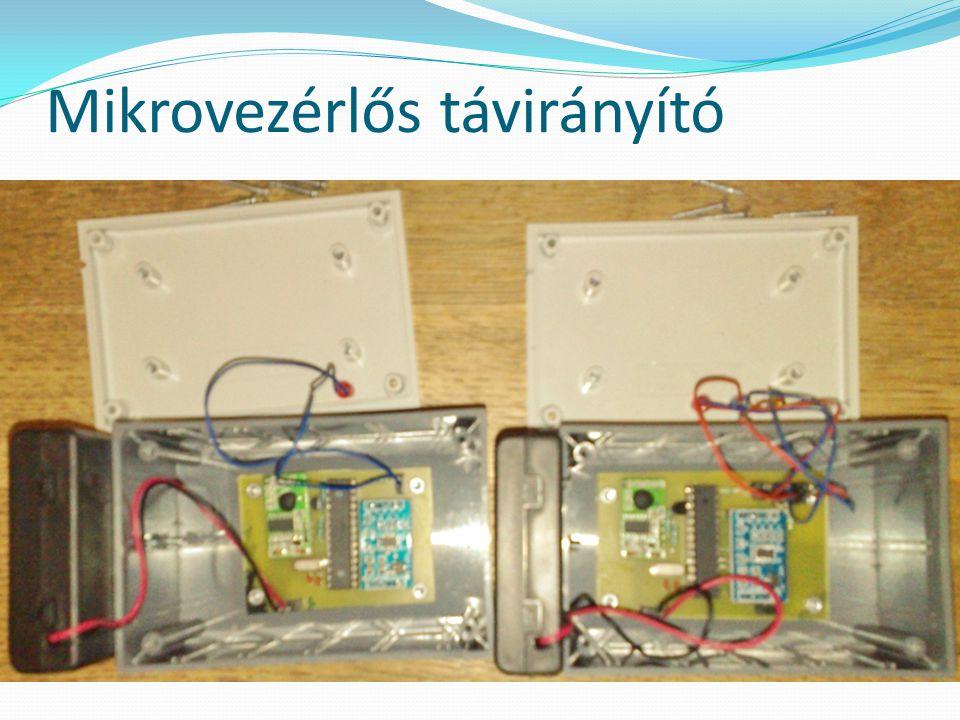 Mikrovezérlős távirányító