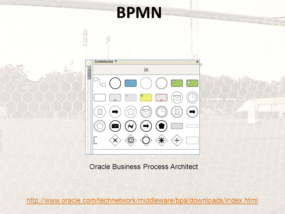BPMN Oracle Business Process Architect http://www.oracle.com/technetwork/middleware/bpa/downloads/index.html