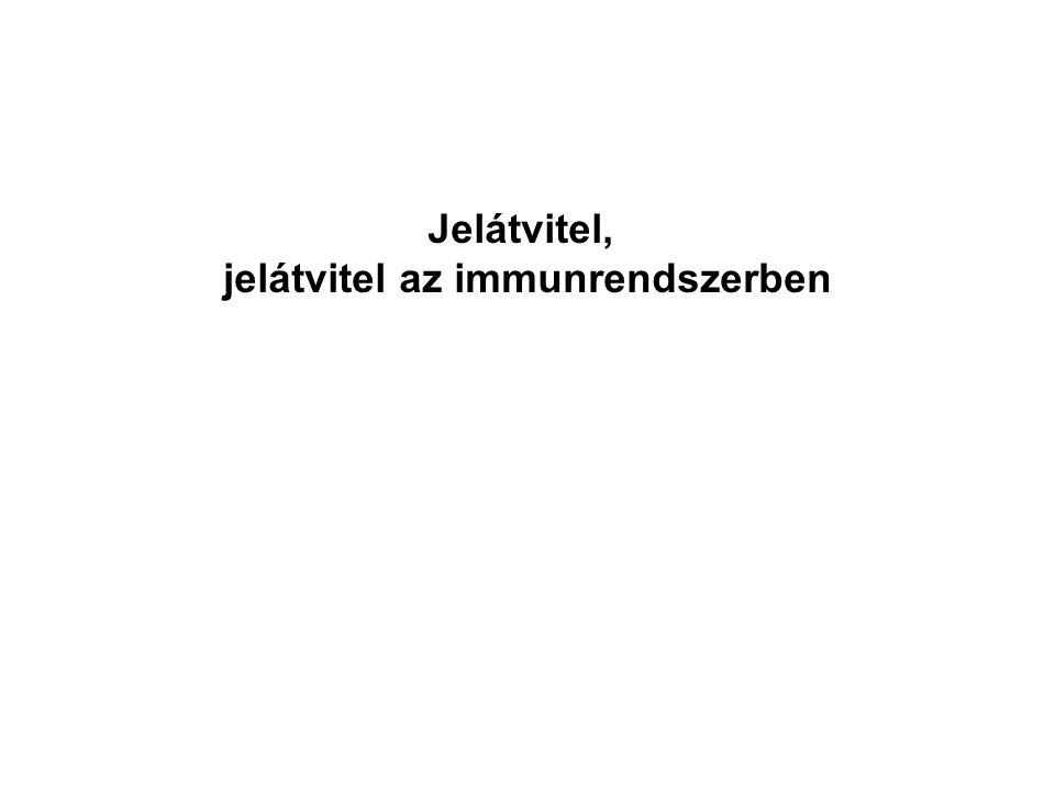 Jelátvitel, jelátvitel az immunrendszerben