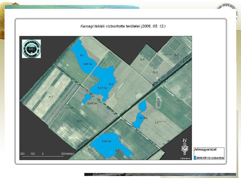 DE AMTC KIK Karcagi Kutató Intézet Területmérés, térképkészítés  Művelés alatt álló és művelés alól kiesett területek pontos (ellenőrző) felmérése,ma