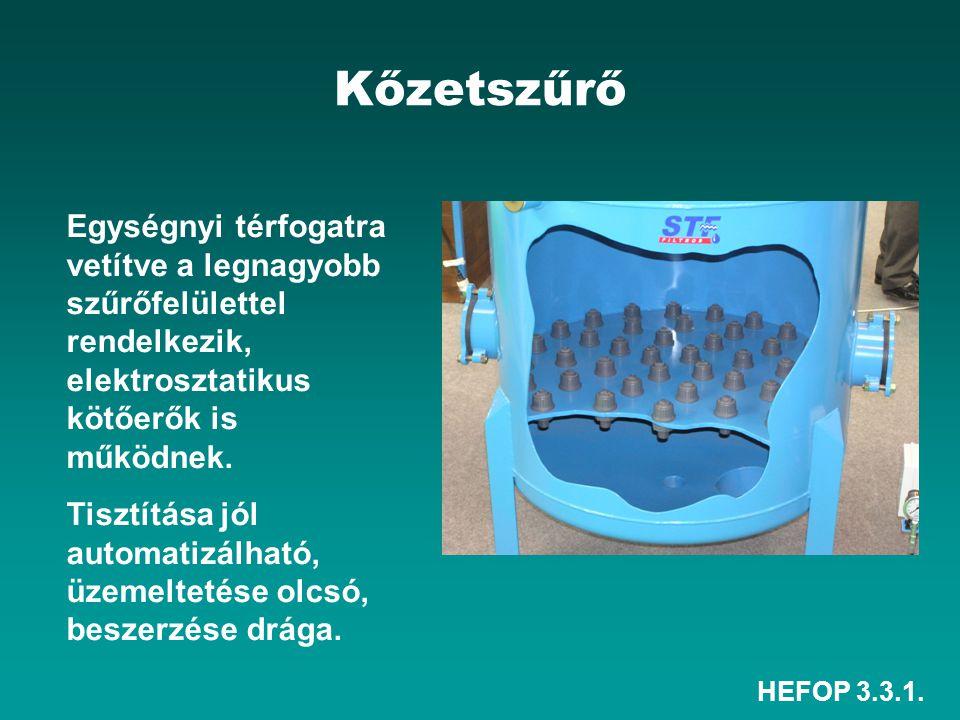 HEFOP 3.3.1. 3. Csepegtető öntözés Vízadagoló elem a csepegtető test