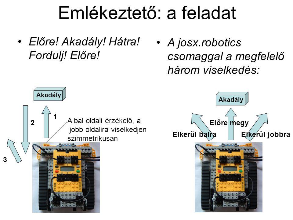 Emlékeztető: technikai beállítások Részletesen a beállítások: http://www.clib.dote.hu/javacska/ea/infosavaria2004 http://www.clib.dote.hu/javacska/ea/infosavaria2004