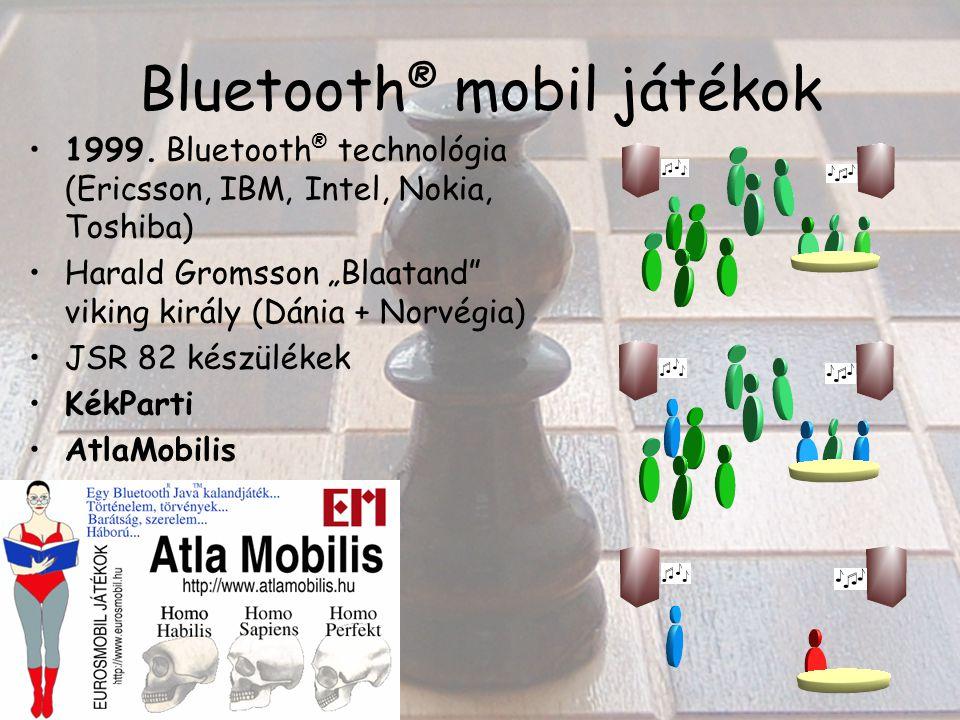 Bluetooth ® mobil játékok 1999.