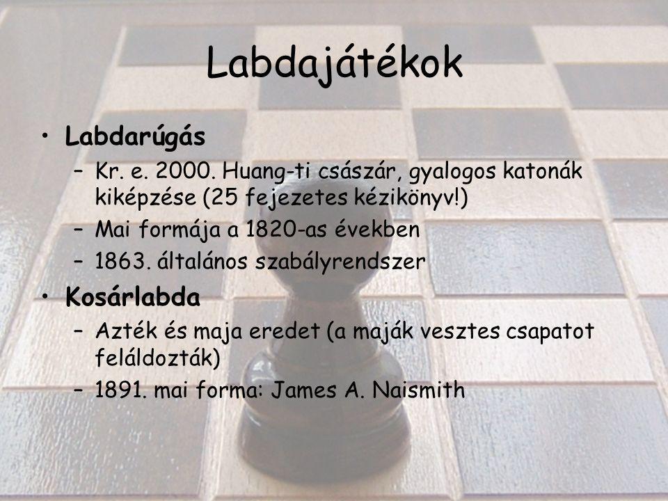 Labdajátékok Labdarúgás –Kr. e. 2000.