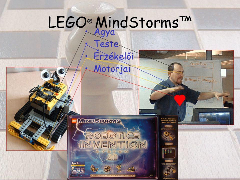LEGO ® MindStorms™ Agya Teste Érzékelői Motorjai