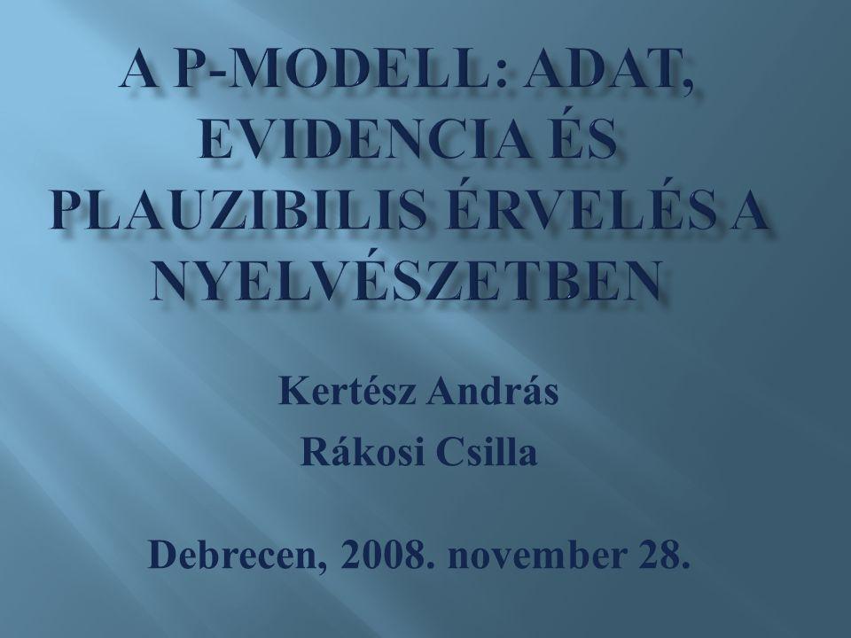 Kertész András Rákosi Csilla Debrecen, 2008. november 28.
