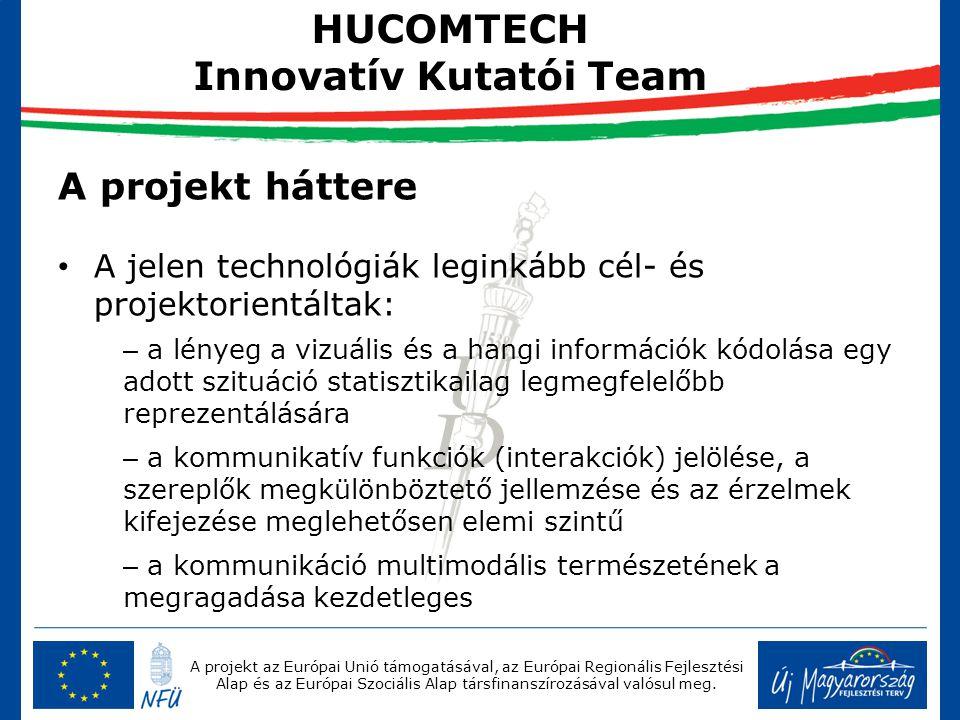 A projekt az Európai Unió támogatásával, az Európai Regionális Fejlesztési Alap és az Európai Szociális Alap társfinanszírozásával valósul meg. A proj