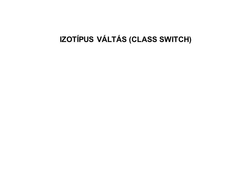 IZOTÍPUS VÁLTÁS (CLASS SWITCH)
