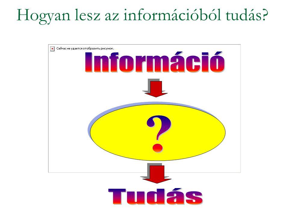 Hogyan lesz az információból tudás?