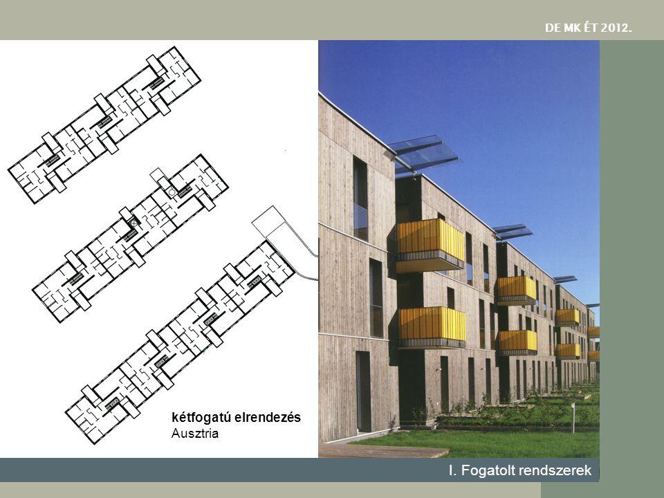 DE MK ÉT 201 2. kétfogatú elrendezés Ausztria I. Fogatolt rendszerek