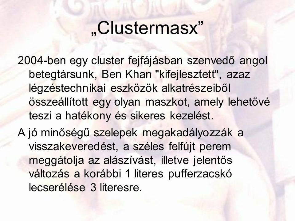 """""""Clustermasx"""" 2004-ben egy cluster fejfájásban szenvedő angol betegtársunk, Ben Khan"""