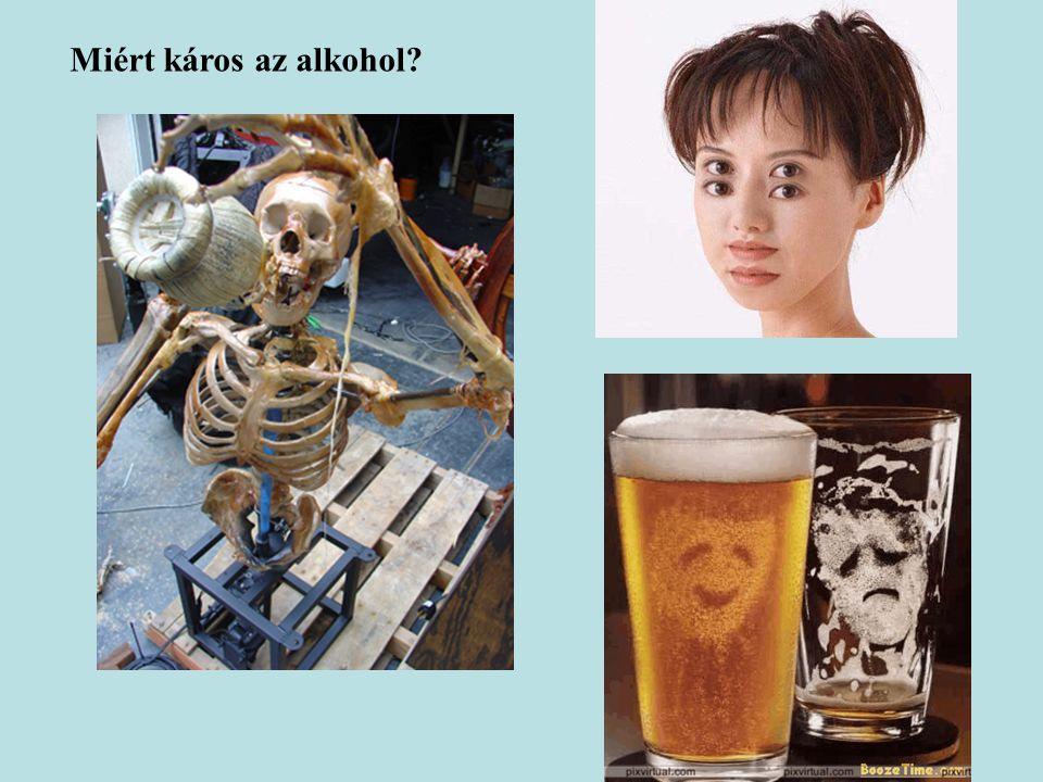Miért káros az alkohol?