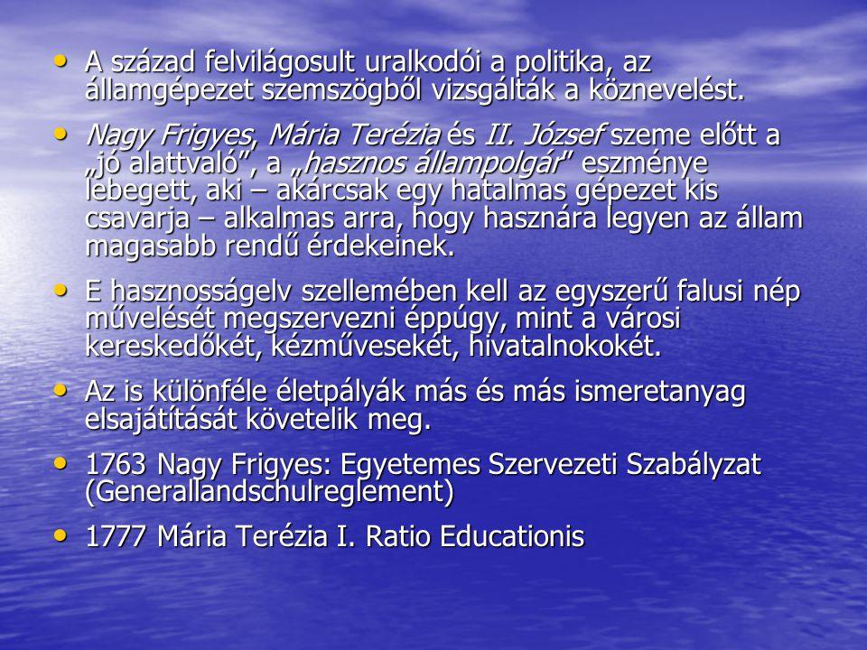 Discours sur le gouvernement de la Pologne Rousseau felfogása később méginkább átalakult: Rousseau felfogása később méginkább átalakult: az individualista pedagógia fokozatosan társadalmi-állampolgári neveléssé formálódott.