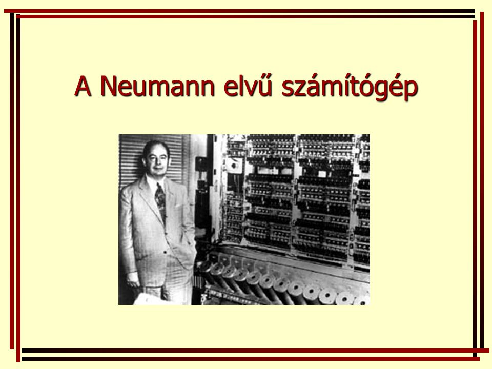 Neumann-gép (1945.