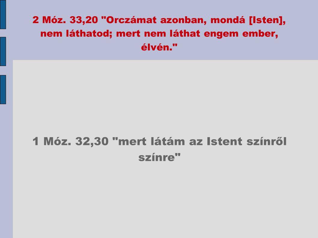 2 Móz. 33,20