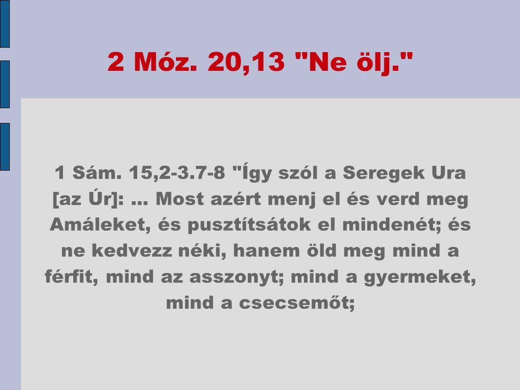 2 Móz. 20,13