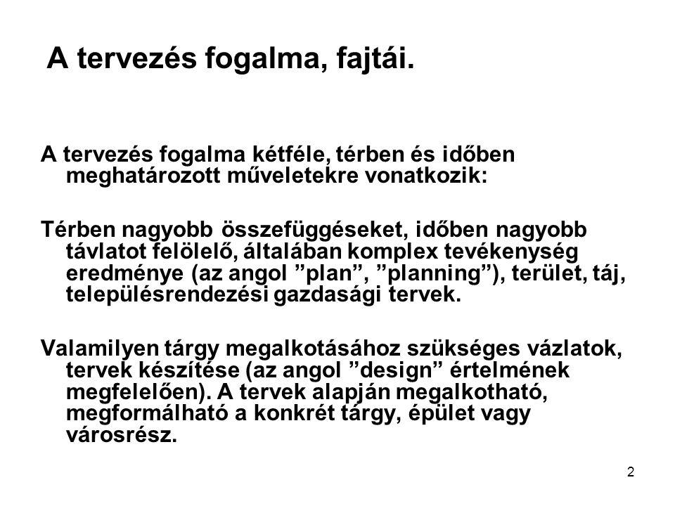 33 Rövid távú tervek Bécs, tömbrehabilitáció.