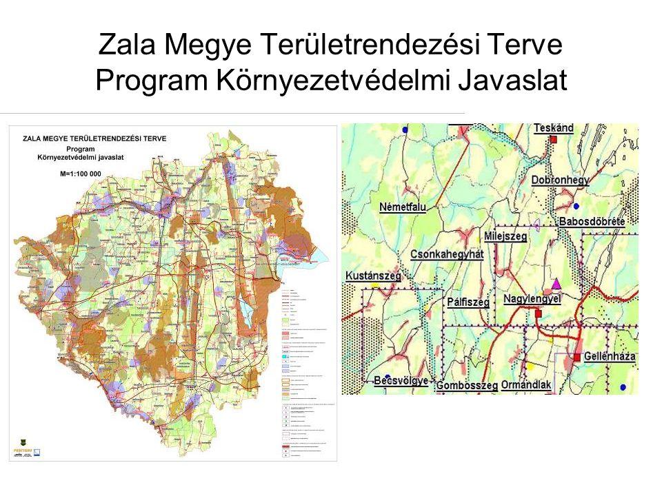 Zala Megye Területrendezési Terve Program Környezetvédelmi Javaslat