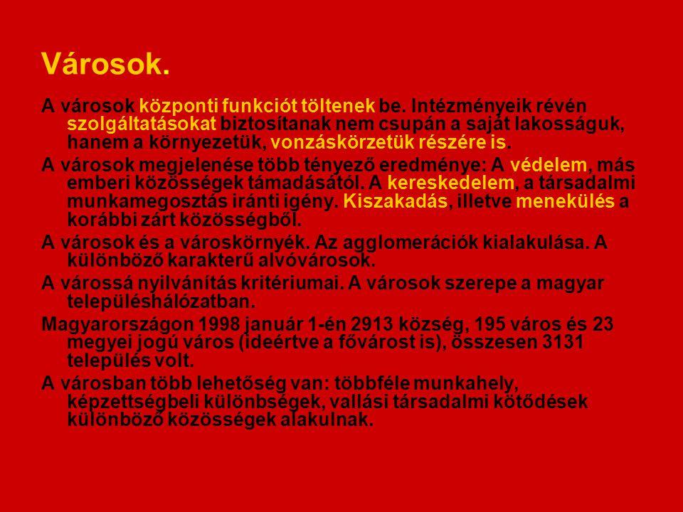 Irodalom Nemes Nagy József: A tér a társadalomkutatásban.