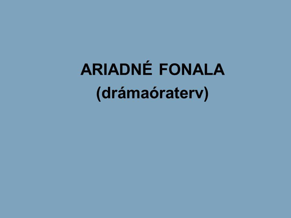 ARIADNÉ FONALA (drámaóraterv)