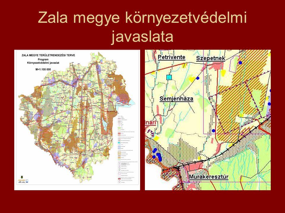 Zala megye környezetvédelmi javaslata